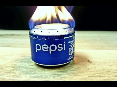 How To Make Pepsi Can Alcohol Stove