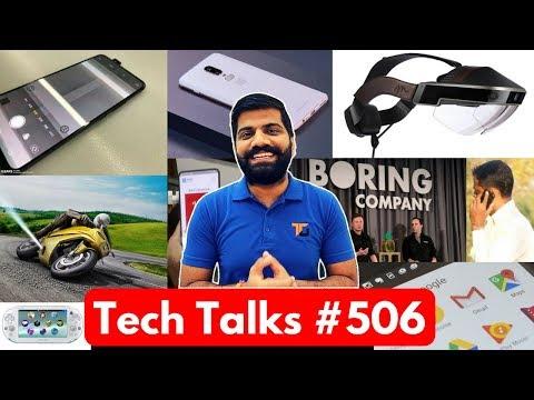 Tech Talks #506 - Vivo Apex, Oneplus 6 on Croma, 240Kmph Ride, PS Vita, Google AR Headset