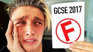 I FAILED EVERYTHING!! (Opening GCSE Results LIVE 2017 *GONE WRONG*)