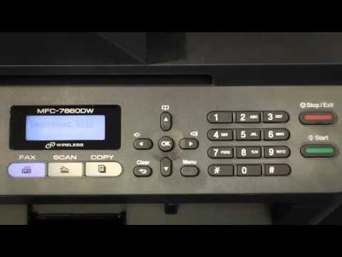 How to Set Up Wireless for the Brother™ MFC-7860DW Printer