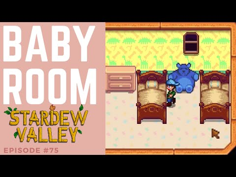 Stardew Valley #75 | Furniture for the baby room / nursery Gameplay