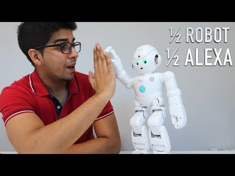 UNBOXING & LETS PLAY! - LYNX HUMANOID ROBOT - powered by AMAZON ALEXA - FULL REVIEW!