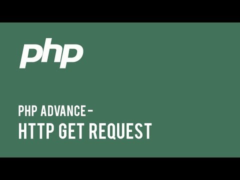 Web Development - PHP Advance : HTTP GET Request