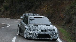 Test Toyota Yaris WRC Ogier 2017 (Edgar-RaceVideos)