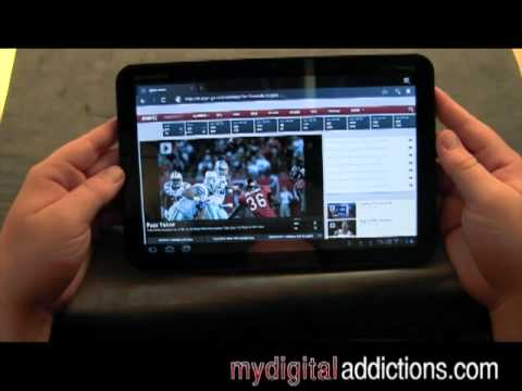 Motorola Xoom 4G - Web Browser