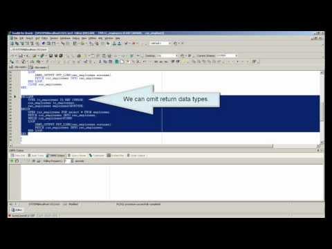 PL/SQL Oracle REF CURSOR and SYS_REFCURSOR tutorial