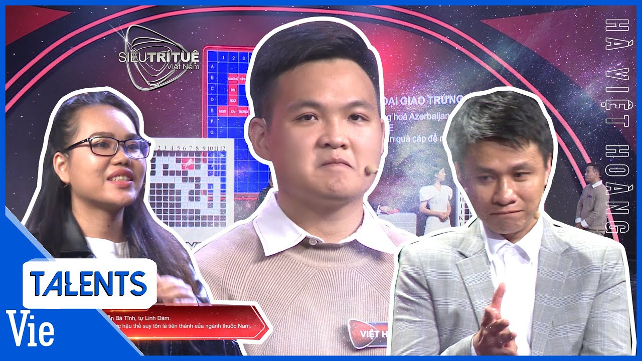 Việt Hoàng trở lại Siêu Trí Tuệ Mùa 2 với màn trình diễn kiến thức ấn tượng | Việt Hoàng vs Thục Nữ