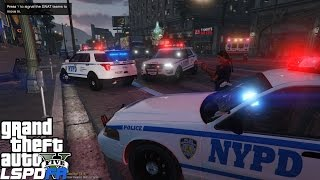 GTA 4 LCPDFR Police Mod 12 | NYPD Highway Patrol Ford Police
