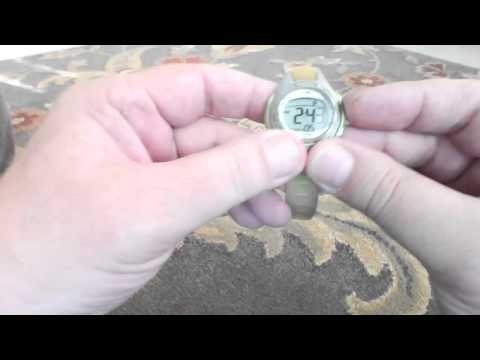 How to change military time to AM/PM time on a Women's Timex 1440 Sports Watch