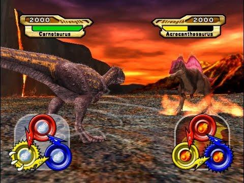 Dinosaur King Arcade Game 恐竜キング - Carnotaurus VS Operation-Dinosaur Rescue 2 [Hard]
