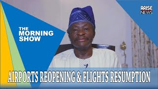 """""""Nigeria's aviation sector should emerge stronger from COVID-19 ashes"""" - Dr Harold Demuren"""