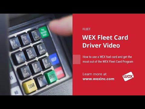 WEX Fleet Card Driver Video