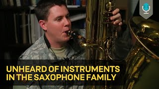 Download Unheard of Instruments in the Saxophone Family