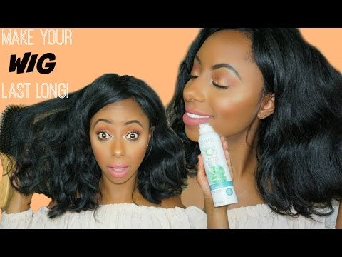 MAKE YOUR WIGS LAST LONG!!! Wig care tips, Maintenance, shampoo and storage || Jessica Pettway