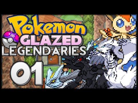 Pokémon Glazed Legendaries   Reshiram, Zekrom, Kyurem and Victini!