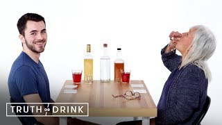 Me and My Grandmother Play Truth or Drink | Truth or Drink | Cut