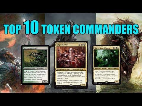 Top Ten MTG: Best Token Commanders