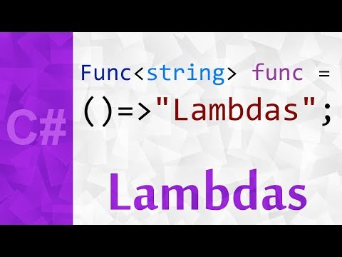 Lambda Expressions in C# 💻 Anonymous Methods and Lambda Expressions in C#