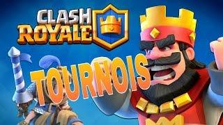 $tounois#1$clash royale je suis nul mais alor