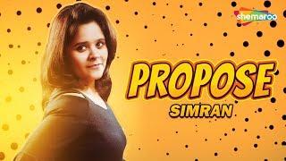 Lyrical Video - Propose | Simran | Shobayy | Happy Randhawa | Latest Punjabi Song 2019 | Shemaroo