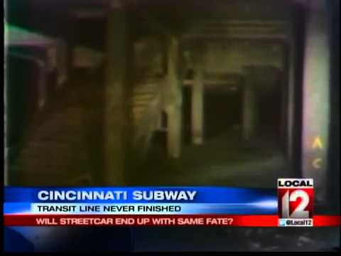 Cincinnati Subway: Will the Streetcar End Up With the Same Fate?