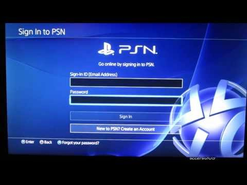 How to Add PS4 User Accounts