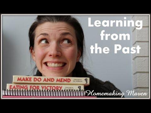 Becoming a 1940's Housewife | Retro Homemaking | Homemaking Maven