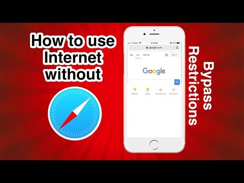 How go on the internet while Safari is restricted
