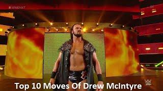 Top 10 Moves Of Drew Galloway (Drew McIntyre)