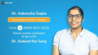 I Followed T&D Schedule for Every Subject: Dr. Akanksha (Rank 1 in AIIMS November 2019)
