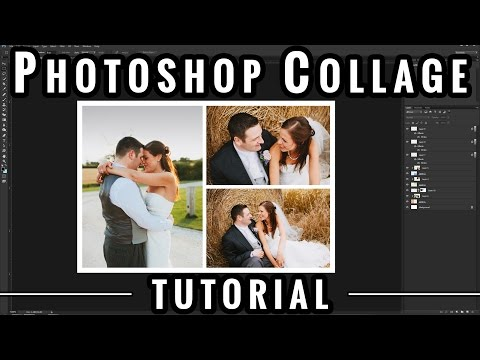 How to Photoshop Collage Templates - Photoshop Photography Tutorials