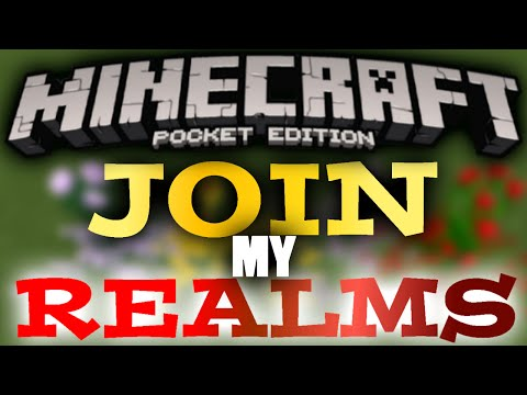 MCPE How To Join Realms! + 0.15.0 IOS Review & MY REALMS