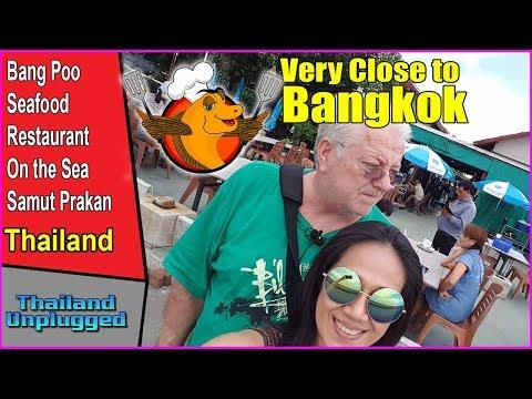 BangPoo Seafood Restaurant Chang Wat Samut Prakan Bangkok Thailand Ultra 4K