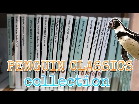 My Penguin Modern Classics Library Collection