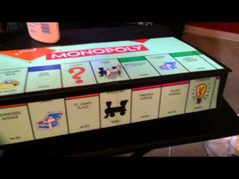 Monopoly board Jewelry Box DIY