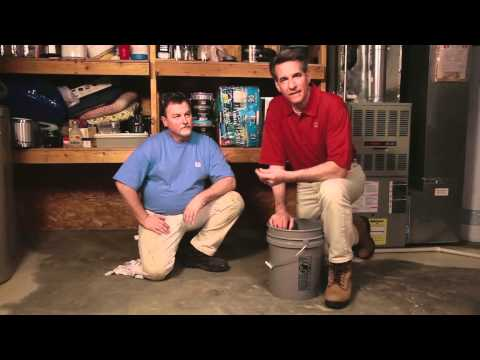 How to Clean, Prep and Coat a Basement Floor