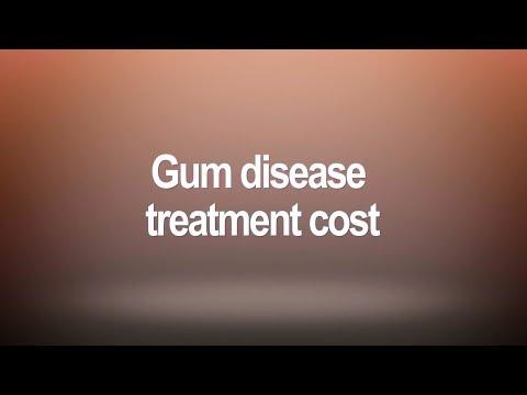 Gum disease treatment cost