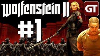 Wolfenstein 2: The New Colossus Gameplay German - Let's Play Wolfenstein 2 PC Deutsch