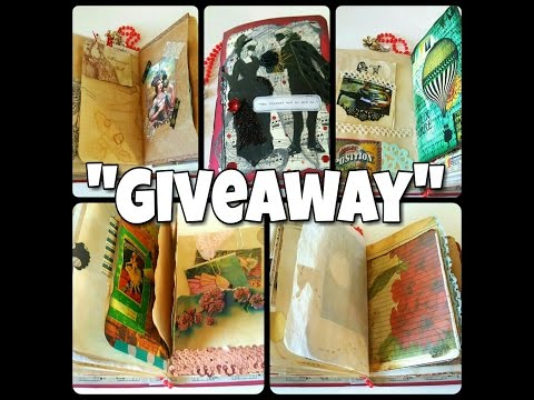 *CLOSED* 100 Subscribers Giveaway! Masquerade Junk journal and Tsunami Rose Etsy Shop Sponsored!
