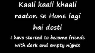 Tujhe bhula diya english translation anjaana anjaani.wmv