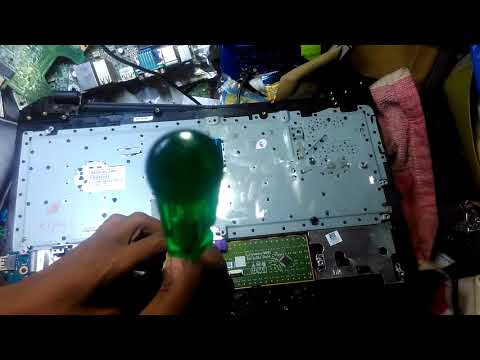 HP 15 Laptop Replace Repair KEYBOARD/motherboard on hp 15-ac650tu laptop