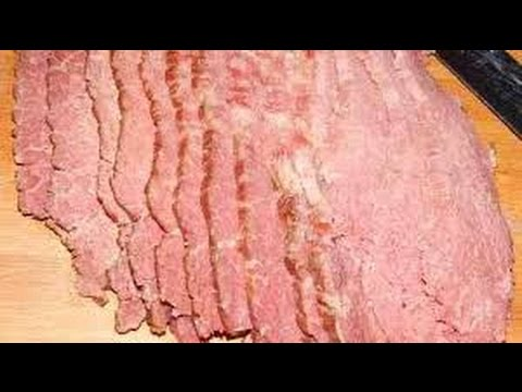 How To Make and Cook Corned Beef - Homemade Corned Beef Recipe