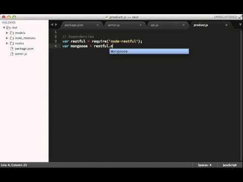 Build a RESTful API in 5 Minutes with NodeJS - Updated