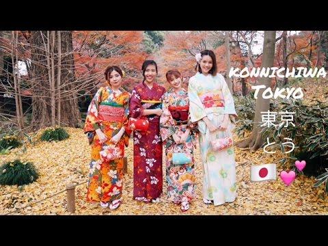 TOKYO VLOG 🇯🇵 | DEC 2016 | KIMONO, SHIBUYA, HARAJUKU, ASAKUSA, SHINJUKU & TOKYO TOWER!