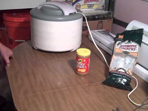 Peanuts to Peanut Butter for Food Storage