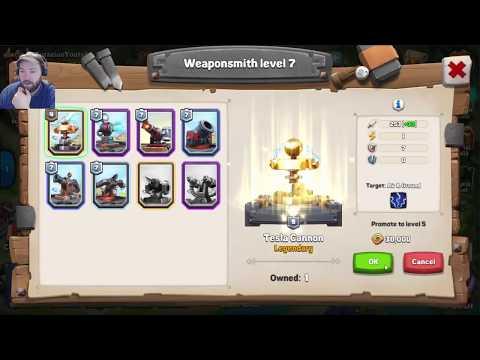 Clan wars! opening my first victory chest | Caravan war