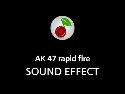 🎧 AK 47 rapid fire SOUND EFFECT