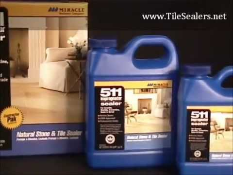 Tilesealers.net 511 Impregnator - How To Seal Tile & Grout