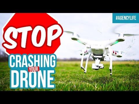 DRONE CRASH UPDATE! - DJI Phantom 3 Standard Footage & Review - AgencyLife