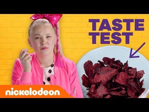 Weird Potato Chip Taste Test w/ JoJo Siwa, Kira Kosarin, Jack Griffo & More 🐙 | Nick